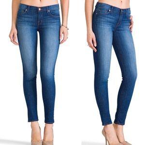 J Brand mid rise skinny jeans in karma